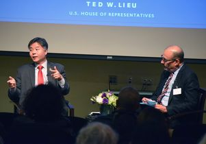 Ted Lieu and Abel Valenzuela DOBY