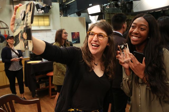 Mayim Bialik and Kemeka Corry