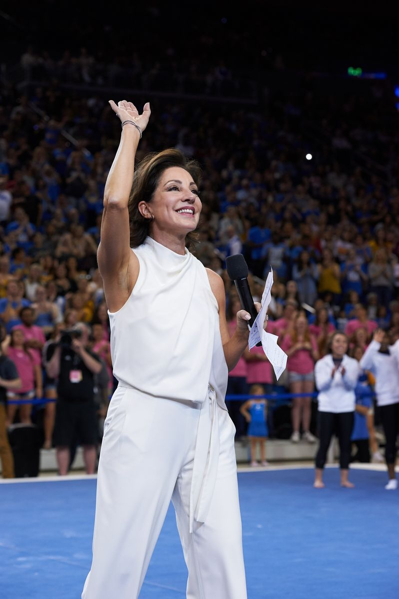 Miss Val S Creations Marvelous Trees: UCLA's Miss Val Feels The Love At Final Pauley Pavilion