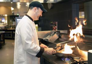 Chef at Bruin Plate