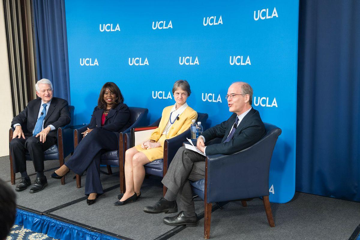 Higher education panel