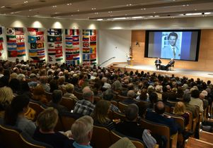 Daniel Pearl lecture with Bob Woodward