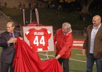Urlacher's Jersey Retired