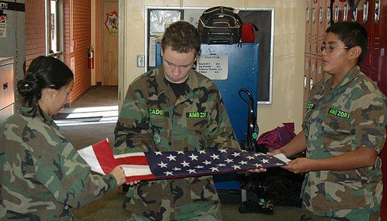 ZORT Flag Folding