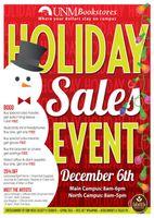 UNM Holiday sale