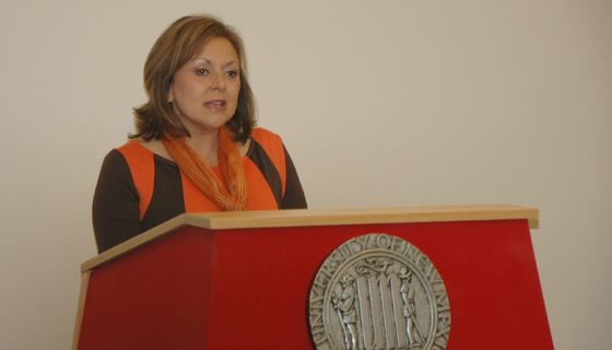 NM Gov. Martinez outlines endowment plan at UNM