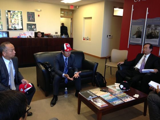 Taiwan Delegation Visits UNM