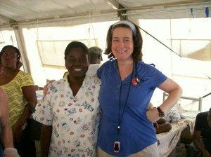 Dr. Susan Levine in Haiti
