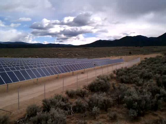 Taos solar array