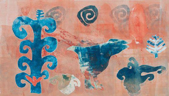 Melanie Yazzie art