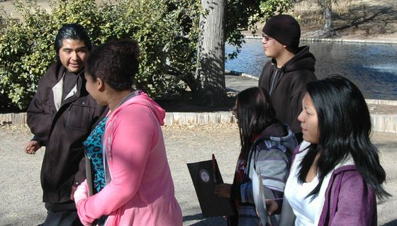 Twin Buttes HS Visits UNM