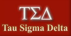 Tau Sigma Delta logo