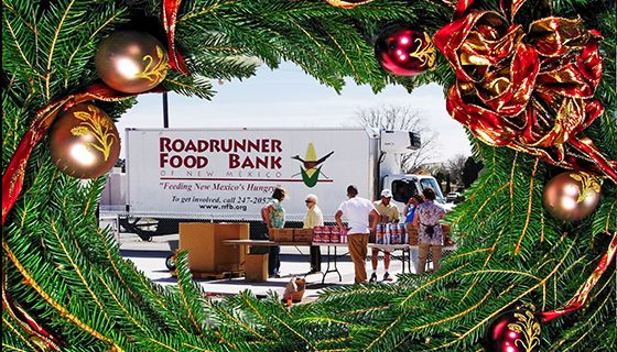 Roadrunner Food Bank delivery