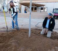 Staff Environs Tree Planting