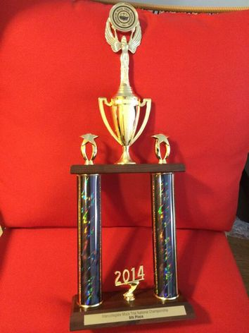 UNM Mock Trial Team Trophy