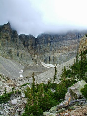 Rock glacier in Great Basin National Park