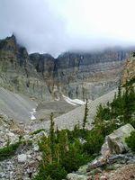 Rock glacier in Great Basin National Park