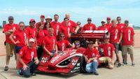 2014 FSAE team