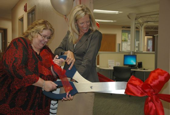 Skills Test Lab Ribbon Cutting