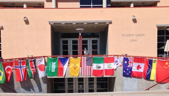 UNM SUB World Flags