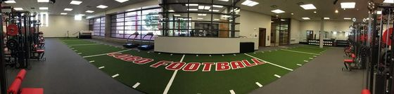 Renovated Lobo weight room