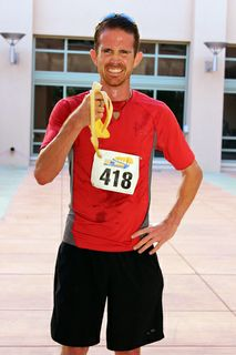 Gabriel Hesch of Albuquerque was the fastest male runner