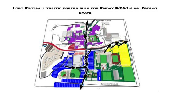 Athletics Traffic Plan