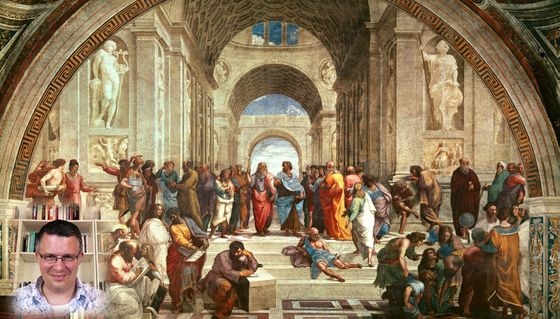 Johnston and School of Athens
