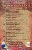 2014 ISI Fall Lecture Series Poster