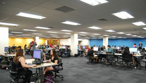 Learning Commons at Zimmerman Library