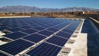 Solar Panels at Continuing Education