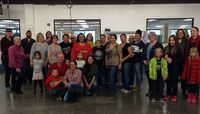 UNM volunteers at Roadrunner Food Bank