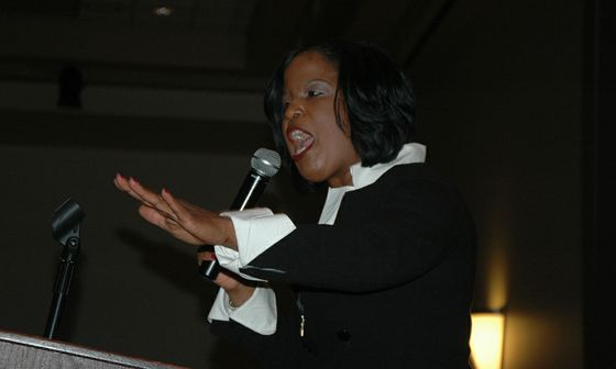 Black History Month guest speaker Roslyn Brock