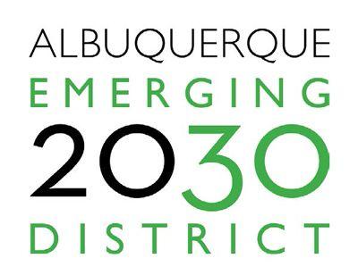 ABQ emerging 2030 logo