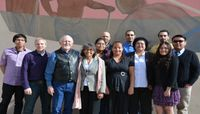 UNM-G students tour city hall