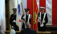 UNM Joint Service ROTC Color Guard