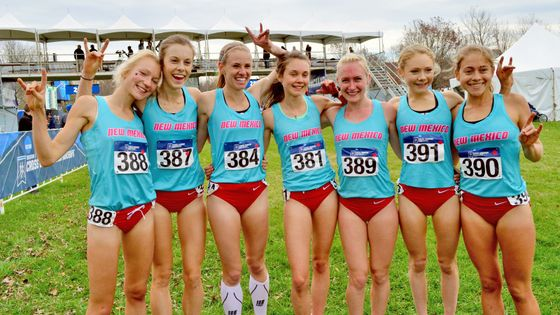UNM women's cross country team takes NCAA National Championship