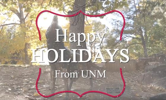 Happy Holidays from UNM