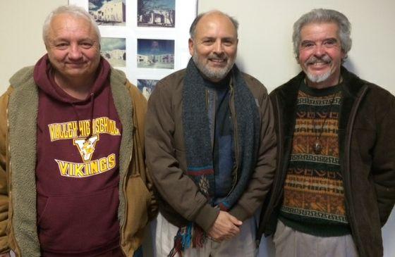 Daniel Antonio Herrera, Felipe Gonzales and Juan Abeyta