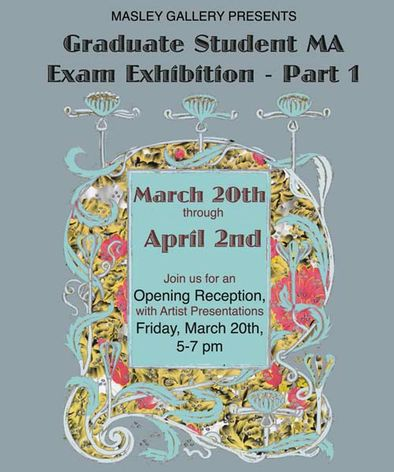 Grad Student Exhibition
