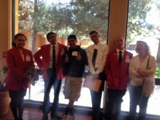 UNM-Gallup Skills USA team