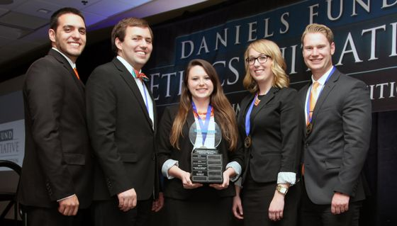 UNM Daniels Ethics Competition team