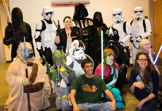 UNM celebrates Star Wars Day