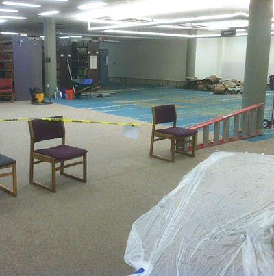 Library Flood