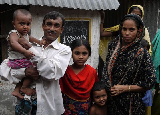 Fathers in slum families