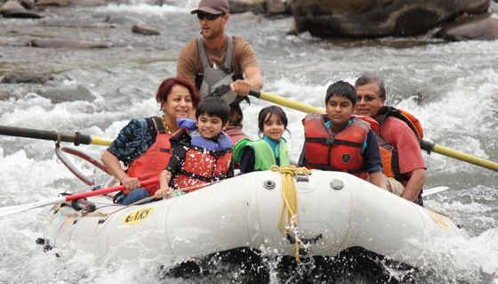 Hossain Family Rafting Trip