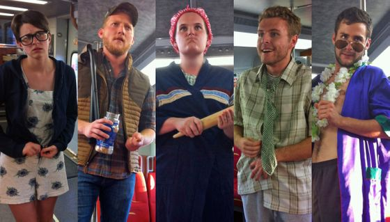 UNM students perform Shakespeare