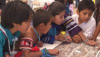 Zuni Children Working