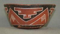 Fourmile Polychrome flowerpot-shaped vessel