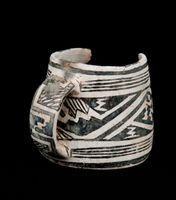 Mesa Verde black-on-white mug (c) Crow Canyon Archaeological Center; BLM-Anasazi Heritage Center (97.10.5MT765.V100R9U553)